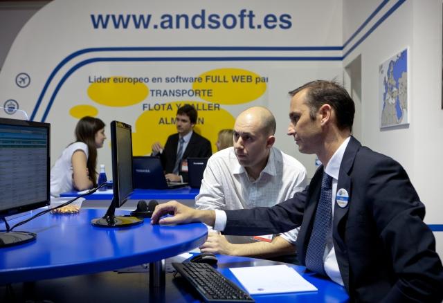 Stand AndSoft en SIL 2012 Barcelona