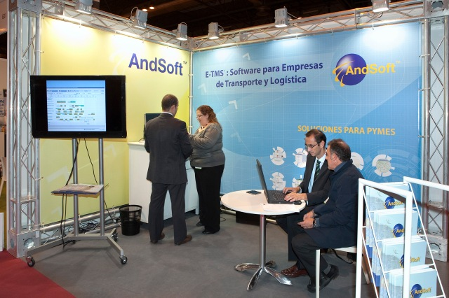 Andsoft logistics salon madrid feria logistica
