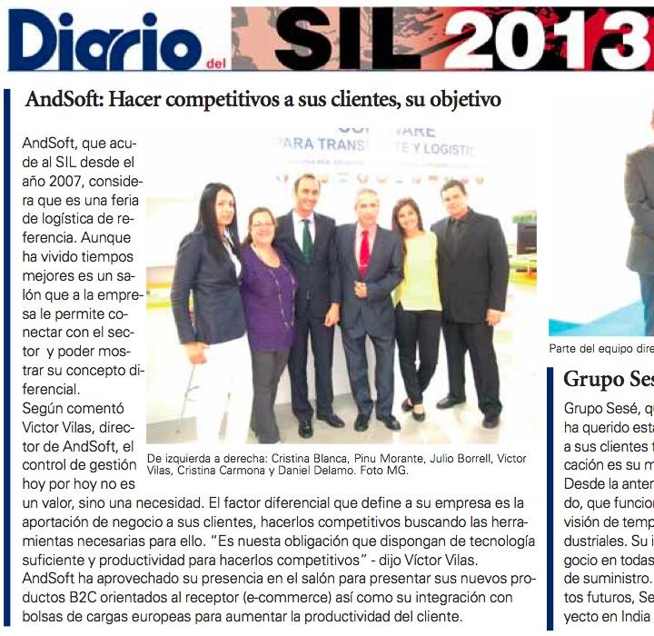AndSoft SIL2013 Diario del Puerto