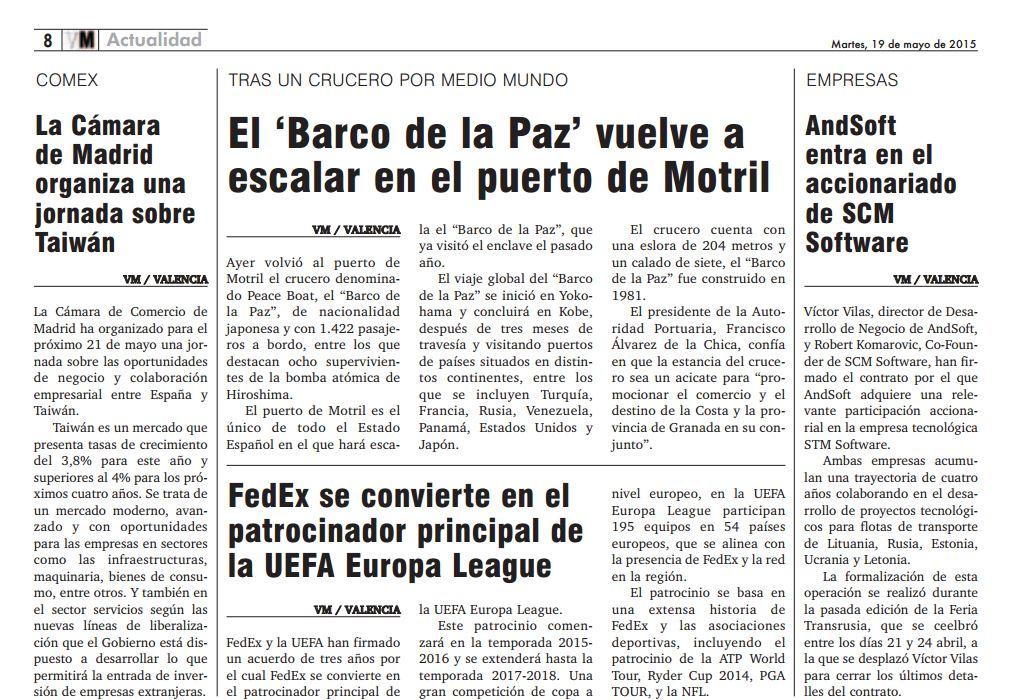 ANDSOFT Diario Valencia Marítima