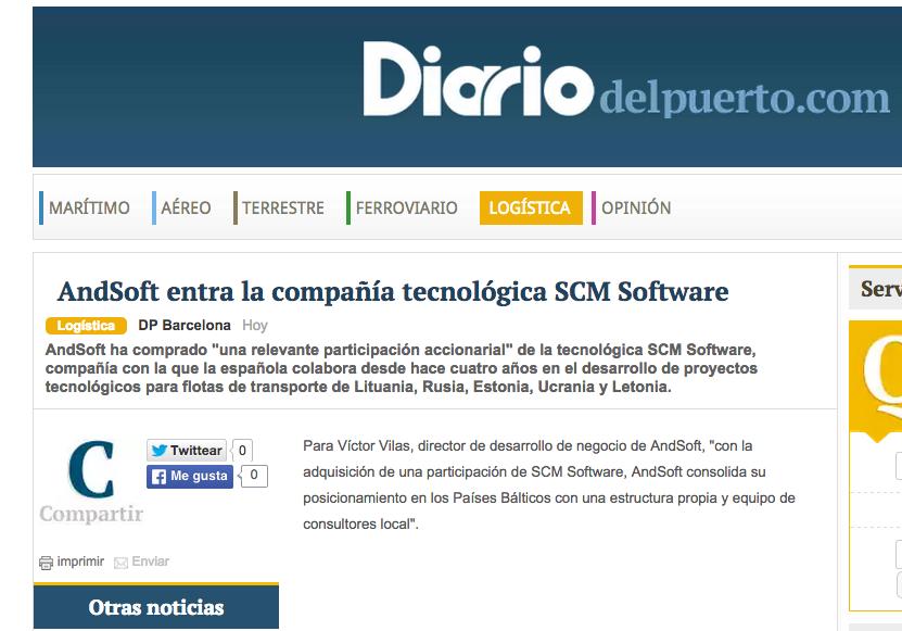 AndSoft en Diario del Puerto