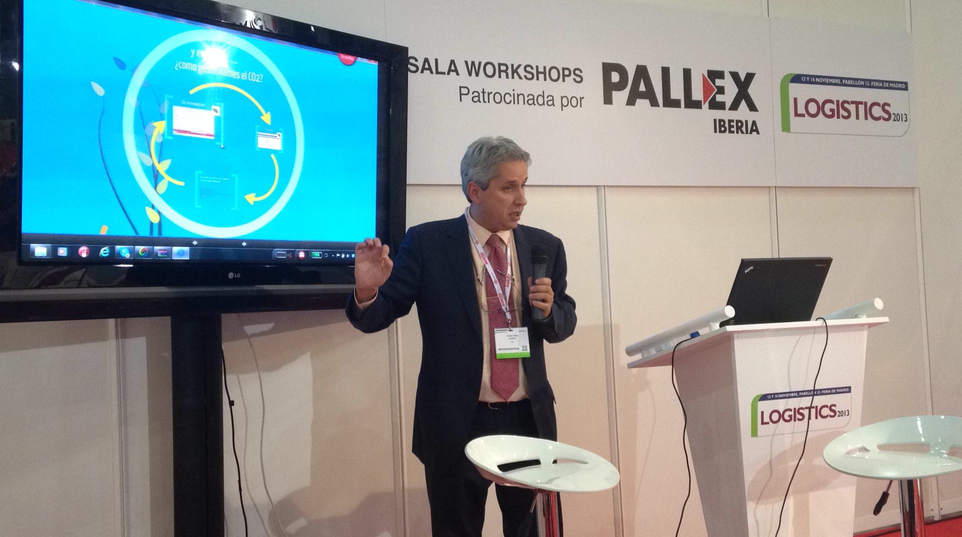 Víctor Vilas en Logistics 2013 Ponencia