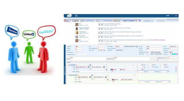 e-TMS Social Network