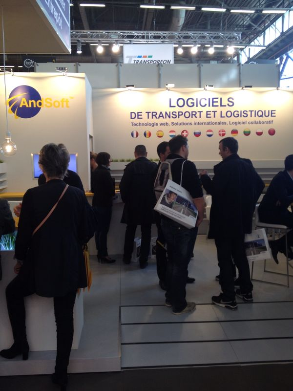 AndSoft software transporte software logistico SITL 2014