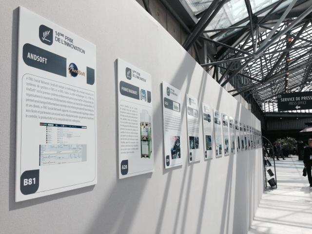 AndSoft participe au Prix de l'innovation et y présente son e-TMS Social Conversation Tool, un module inspiré des réseaux sociaux.