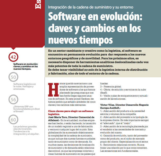 Víctor Vilas Software Transporte y Logística