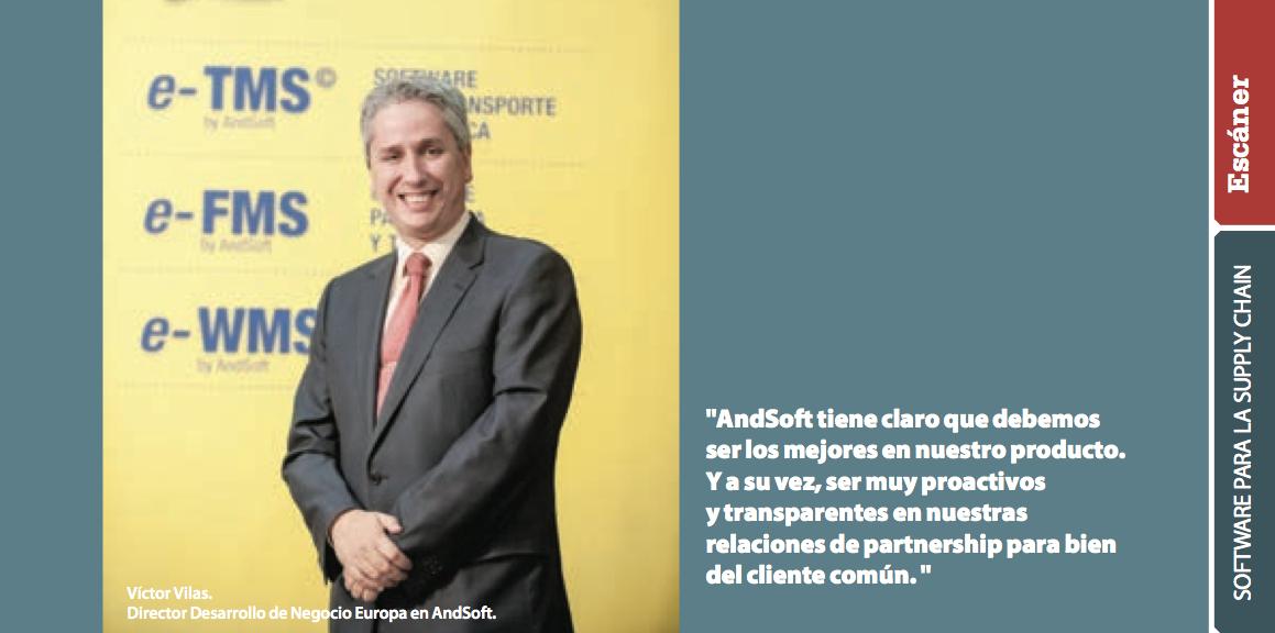 Victor Vilas en Especial Software Logístico Manutención y Almacenaje Julio 2014