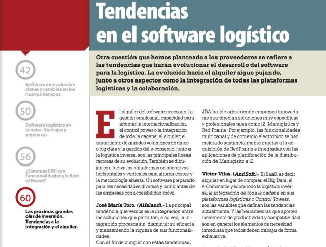 Software Logístico y transporte Víctor Vilas