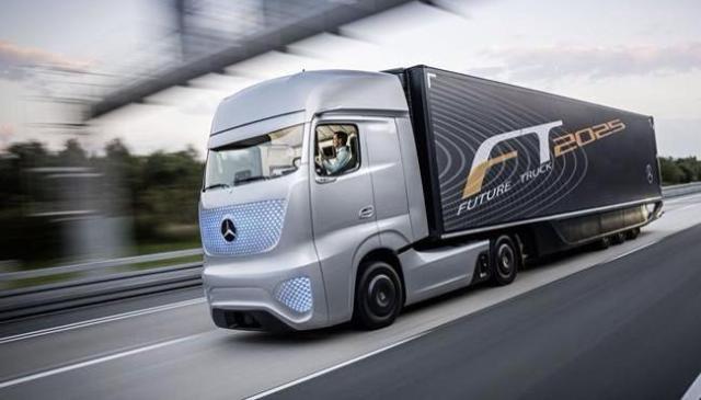 Cómo será el camión del futuro 2025