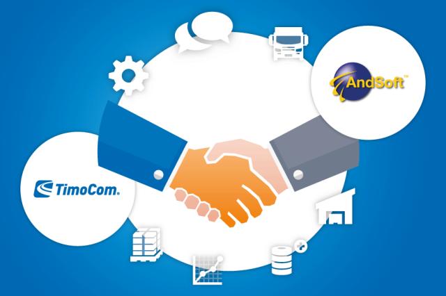 Timocom y AndSoft unen plataformas tecnológicas