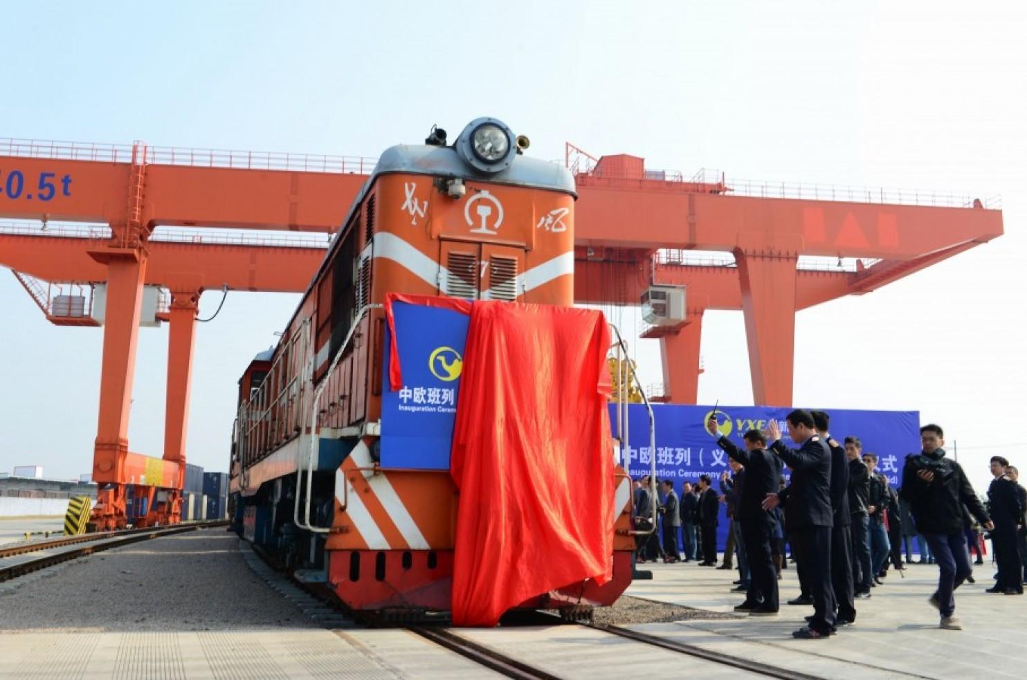 primer transporte ferroviaria china españa