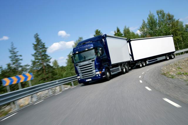 Foto Camion Scania 60 toneladas
