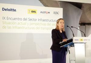 Ana Pastor, Ministra de Fomento Inversiones y Subvenciones Públicas 2015