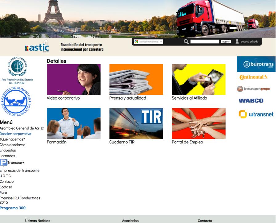 Decálogo ASTIC para mejorar el transporte 2016