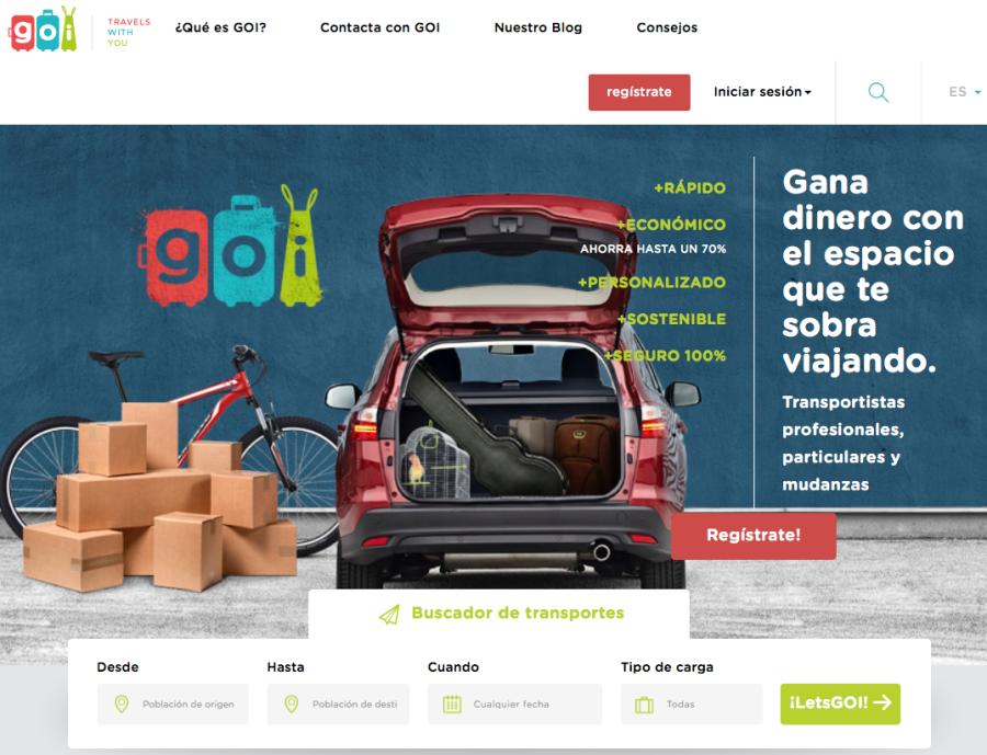 GOI Yaiza Canosa Blablacar paqueteria transporte mercancías economía colaborativa