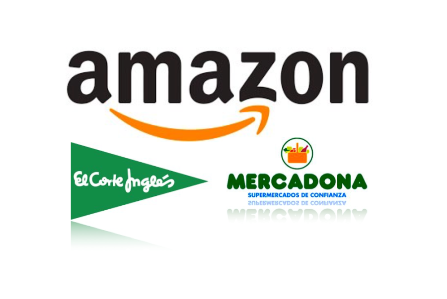 Amazon frente Corte Inglés y Mercadona Blog AndSoft