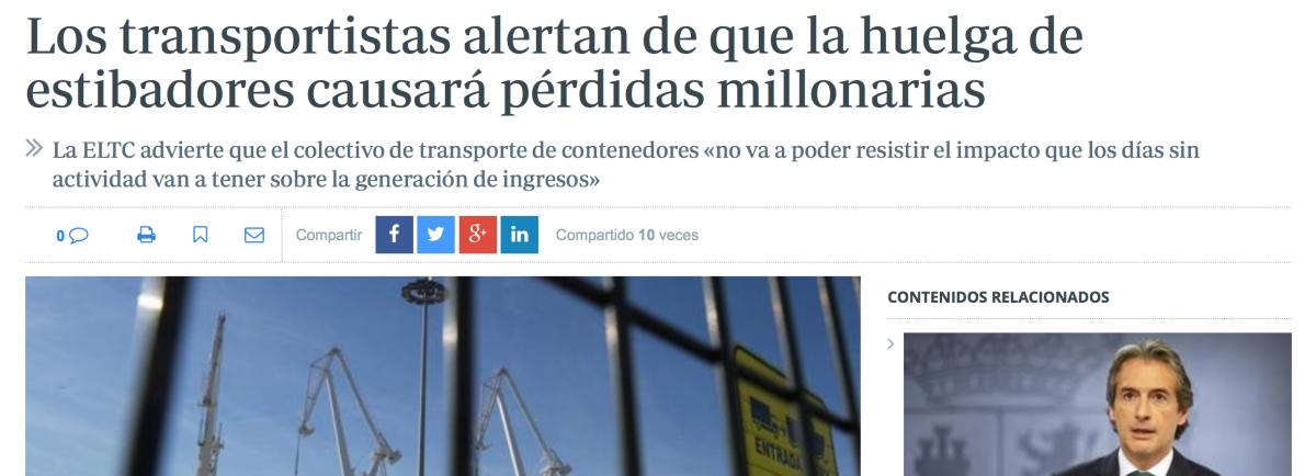 El mejor aliado del #transporte terrestre de mercancías: Los #Puertos