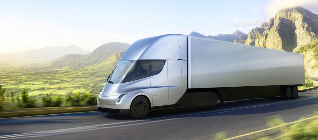 Electric Tesla Semi