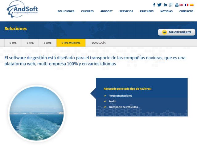 e-TMS Maritime AndSoft