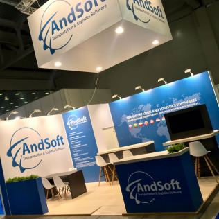 Stand AndSoft Transrussia 2018