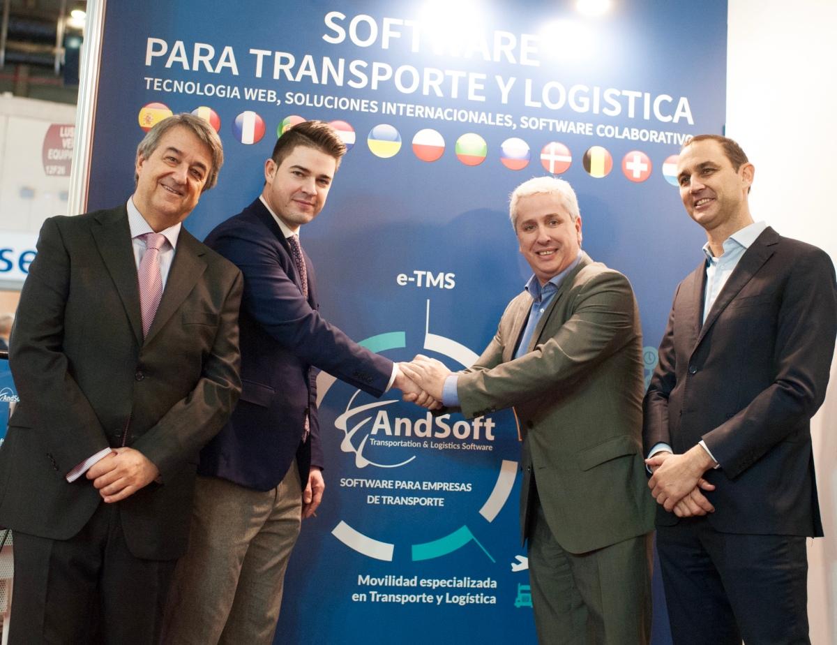 AndSoft primera en integrar el CMR electrónico de TransFollow para su e-TMS y agilizar la gestión de empresas de transporte y logística