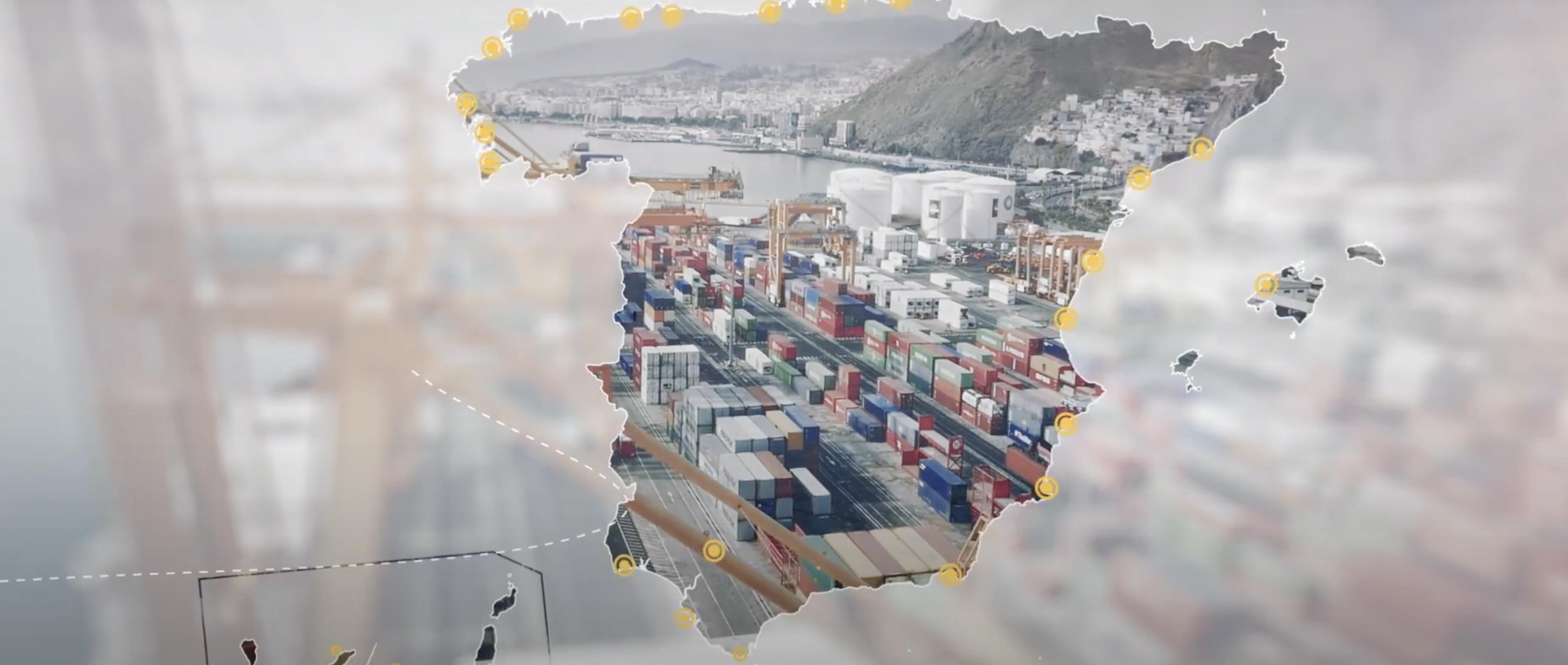 Los puertos de mercancías españoles digitalizan su información con una nueva plataforma tecnológica