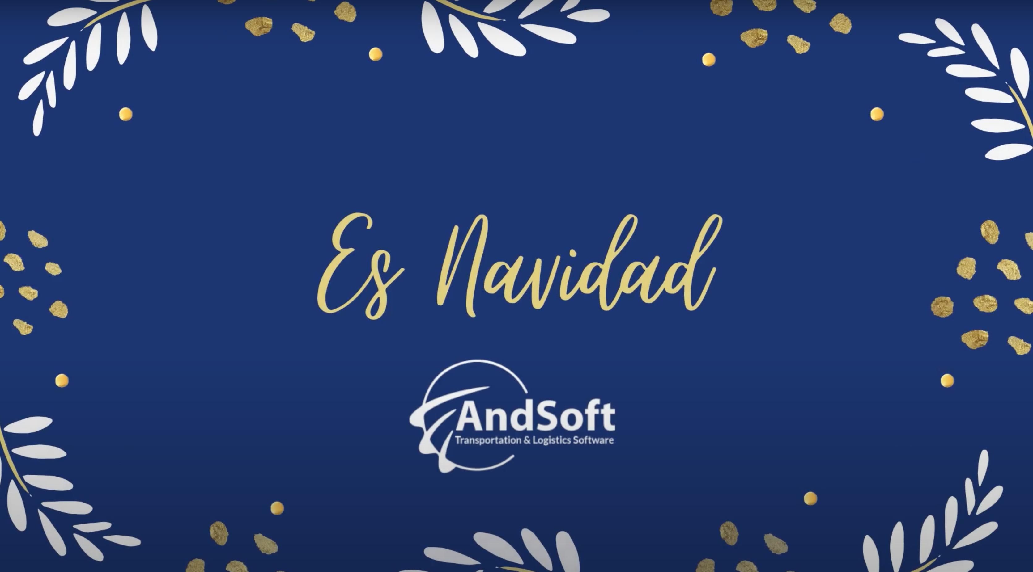 El equipo de profesionales de AndSoft le desea Feliz Navidad y Próspero 2021