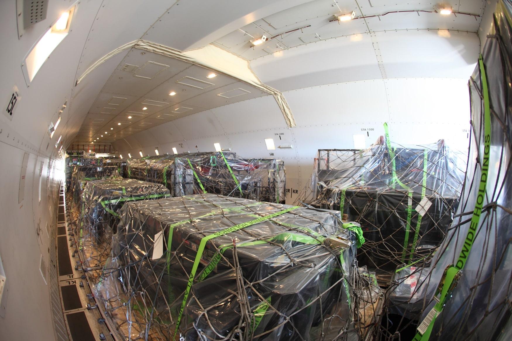 El transporte de mercancías, oportunidad de negocio alternativo para las aerolíneas