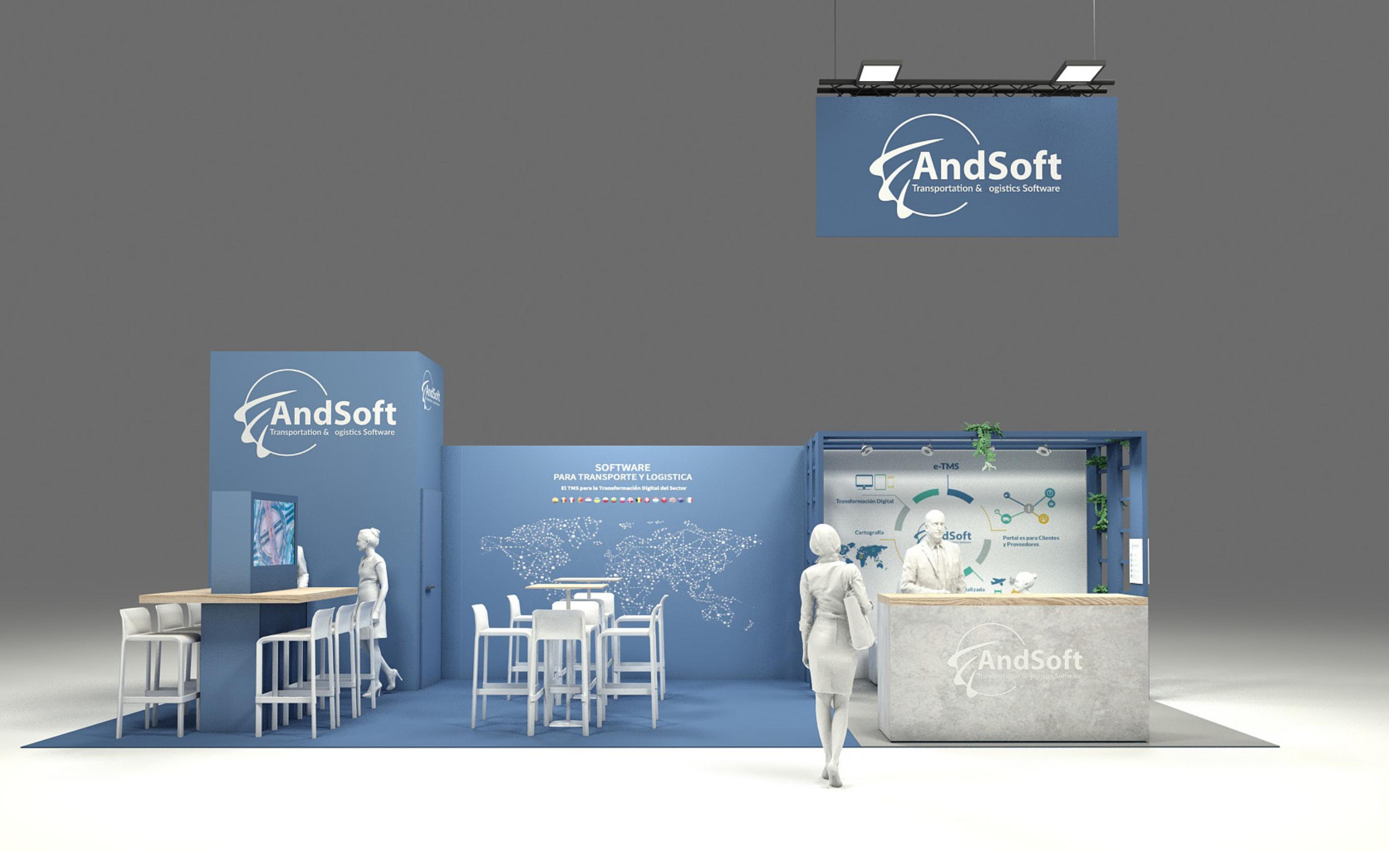 AndSoft: Stand 9D37 en Feria Logistics Madrid los días 24 y 25 de noviembre